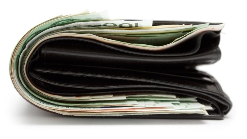 錢包 荷包 現金 錢 投資 理財