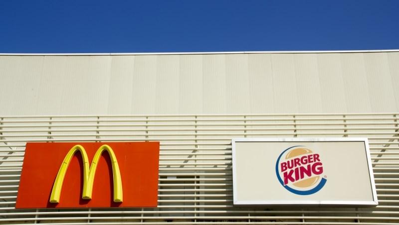 麥當勞 漢堡王