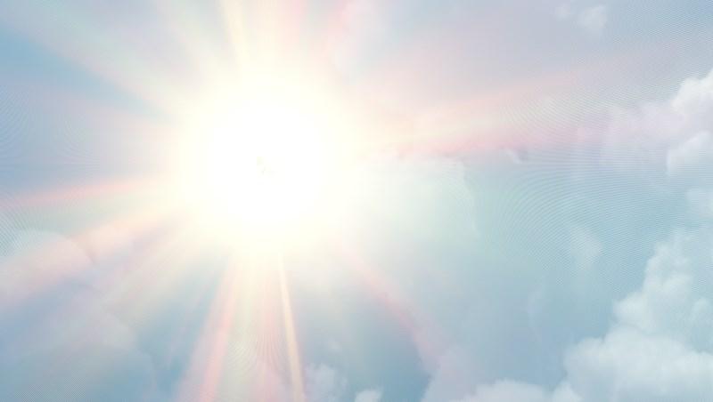 夏天 太陽