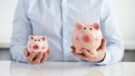 兩個投資帳戶實測:一個漲了就賣、一