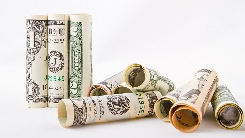 錢,美金,美元,鈔票
