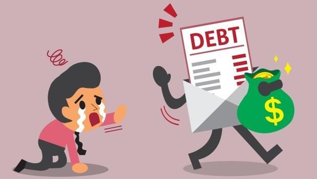 負債 虧損 債務