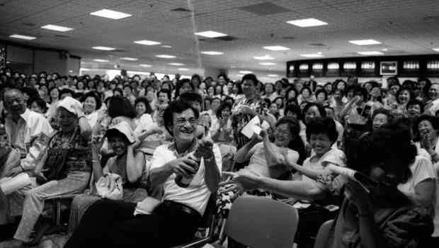 一天就能賺到一個月薪水,台灣人不工作全力炒股》一系列舊照回顧,台股的夢幻年代