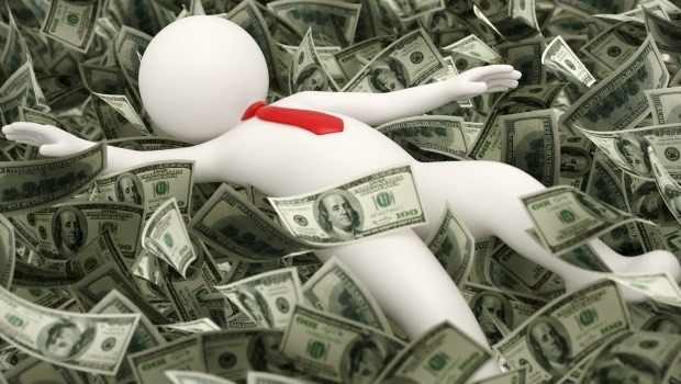 現金 錢 有錢 富翁 賺錢 投資 理財
