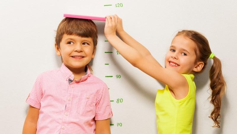 量身高 小孩 孩子 男童 女童