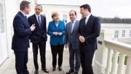 西方政局轉眼改變,G5峰會照片只剩德國總理梅克爾