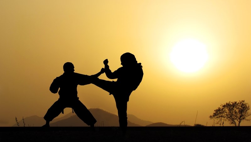 打鬥 對決 對抗