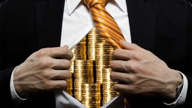 投資 股市 股票 基金 債券 上漲 賺錢  現金 富翁 有錢人 富豪