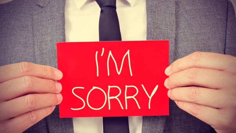 認錯 道歉