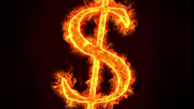 賠錢 燒錢 虧損