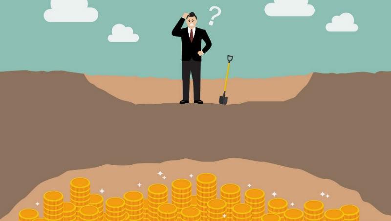 從挖金礦,看有錢人不外傳的致富秘訣》窮人會挖到「剩一公尺」時放棄、富人會在此時接手...
