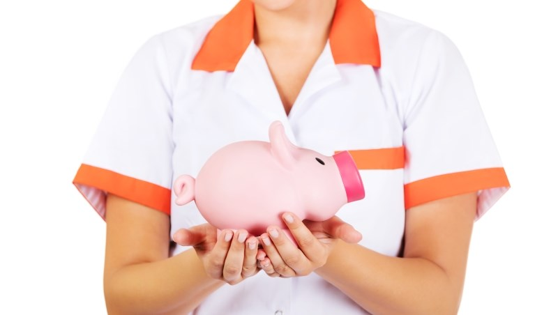 護士 存錢