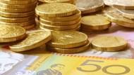 澳幣挫至三個月低!Q3通膨增幅不如預期、RBA升息難