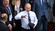 得票率逾7成,普丁確定繼續統治俄羅
