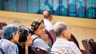 美中貿易戰嚇壞全球股市 台股收盤大跌182點