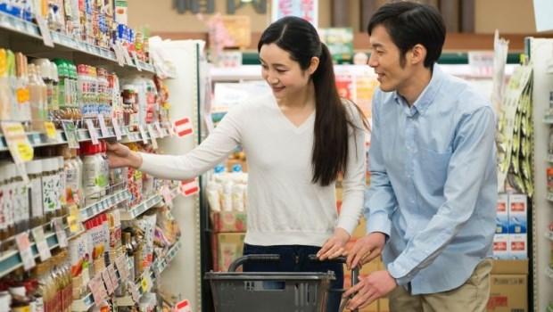 情侶 夫妻 超市 賣場