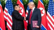不滿金正恩見習近平?川普:北韓制裁措施將展延一年