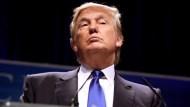 """任正非稱川普是""""偉大總統""""、暗示女"""