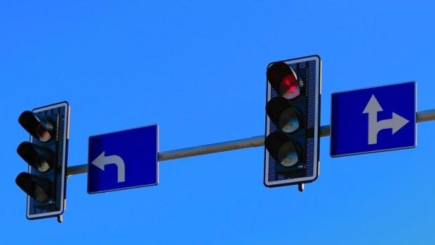 紅綠燈,交通,塞車,轉彎,路,馬路,行人,事故