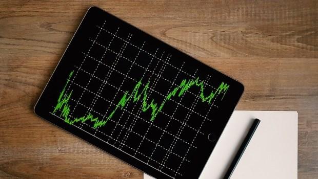 股市,下跌,股票,報表