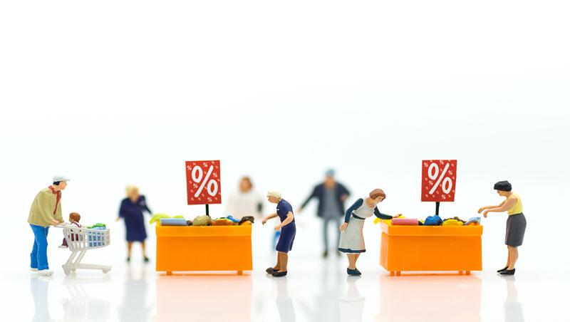 以為趁促銷期間購物就能省到錢,結果反而花更多⋯不需要的東西,無論何時都不該買