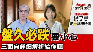 影片》中國限電對台股影響如何?K線捕手楊忠憲:留意大盤風險!