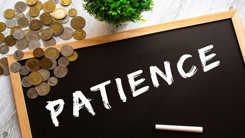 想追求卓越必須付出代價,就像飯煮好後還得燜…不管是投資還是人生,耐性都是基本功