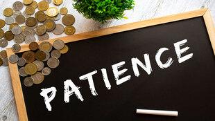 想追求卓越必須付出代價,就像飯煮好後還得燜…不管是投資還是人生,耐性