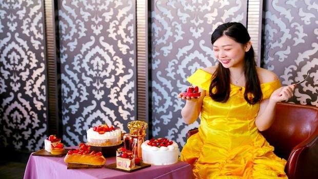 裕元花園酒店冬季必吃絕美甜點,夢幻公主草莓季華麗登場!