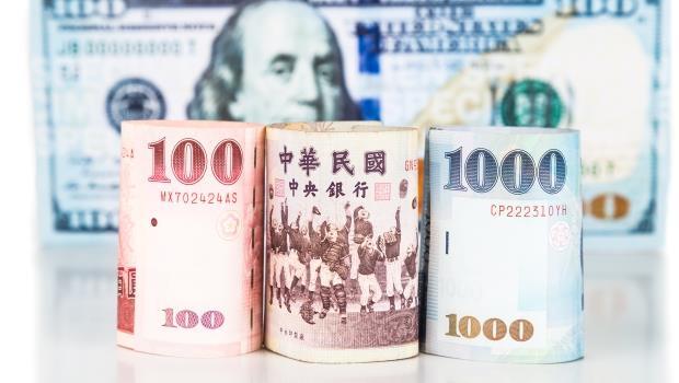 台幣罕見重貶1.27角,寫2個月來新低