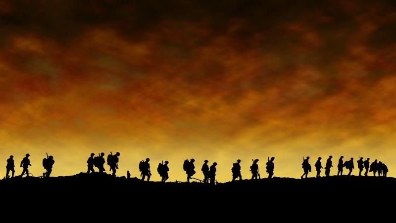 戰爭 打仗