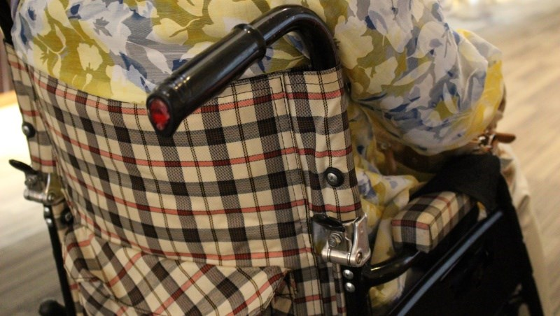 老人 長照 輪椅