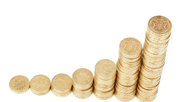財富,金錢,零錢,賺錢,幸運,上漲